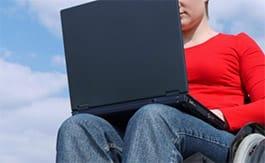 Alumna con discapacidad