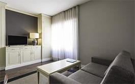 Habitación de Ilunion Hoteles