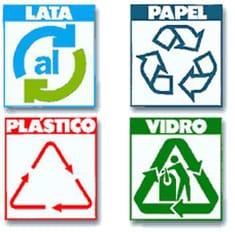 Ilustración de reciclado