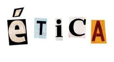 Ilustración sobre 'ética'