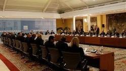 Anterior reunión de Zapatero con los empresarios