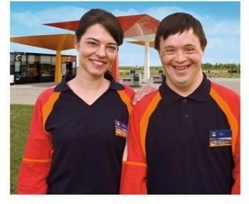 Trabajador con discapacidad de Repsol