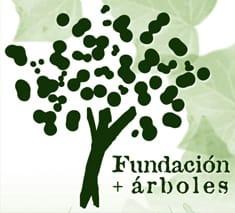 Emblema de la Fundación + árboles