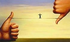Ilustración sobre el comportamiento ético