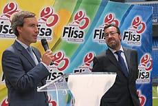 Alejandro Oñoro junto a MIguel Carballeda