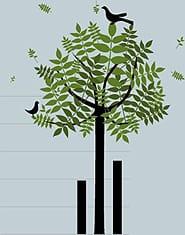 Ilustración sobre las memorias de sostenibilidad