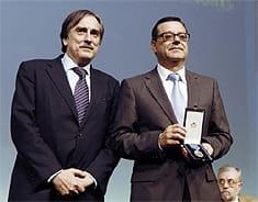 Martínez Donoso recoge la Medalla