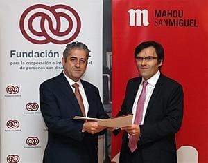 Jesús Domingo (iz.) junto a Alberto Durán