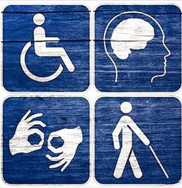 Distintas discapacidades