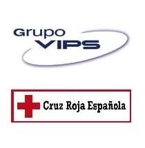 Logos de Grupo VIPS y Cruz Roja Española