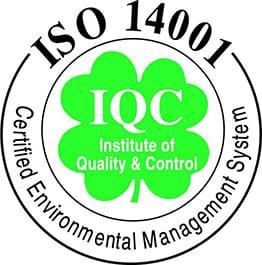Marchamo de ISO 14001