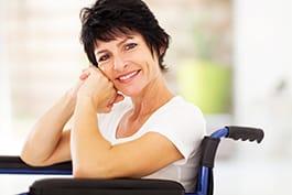 Mujer con discapacidad