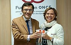 Alberto Durán junto a Patricia Abril